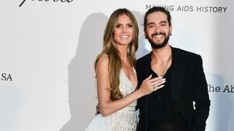 Heidi Klum, Tom Kaulitz First Public Appearance Cannes