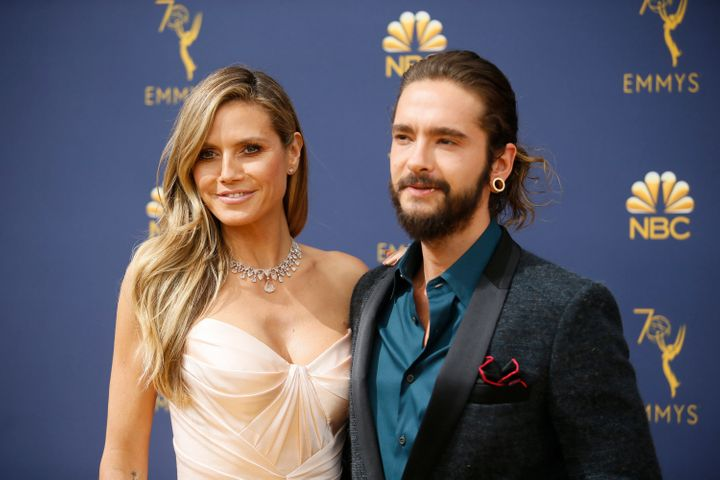 The two pictured together at the Emmys.