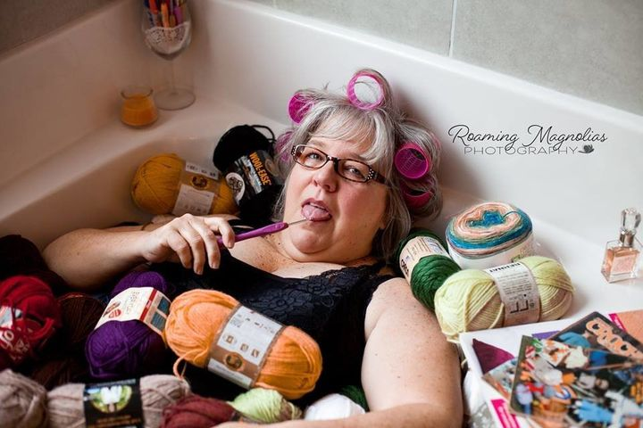 Grandma Takes Boudoir Photos As A Christmas Present For Grandpa And