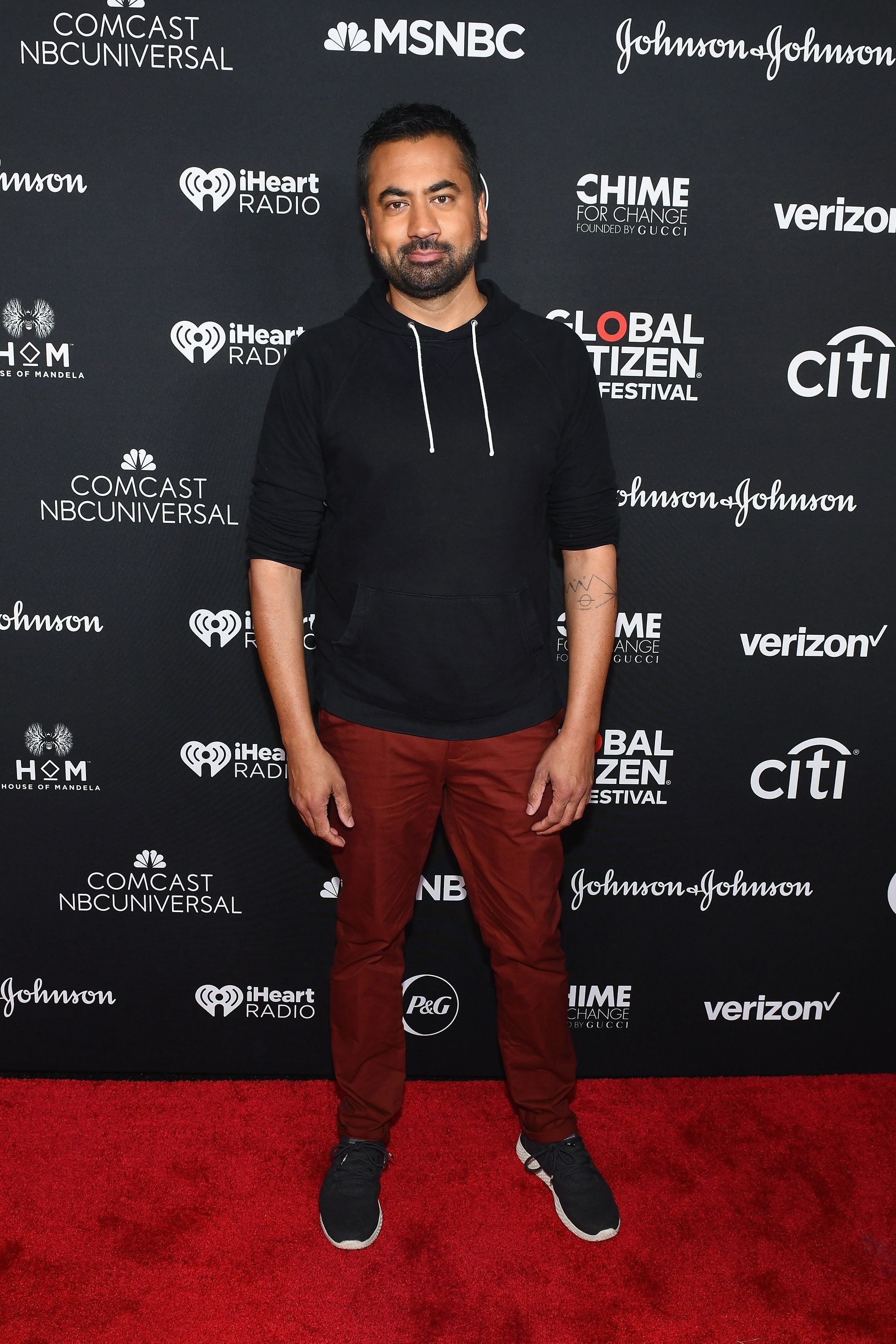 NEW YORK, NY - SEPTEMBER 29: Kal Penn attends the 2018 Global Citizen Festival: Be The Generation in Central Park on September 29, 2018 in New York City.  (Photo by Noam Galai/Getty Images for Global Citizen)