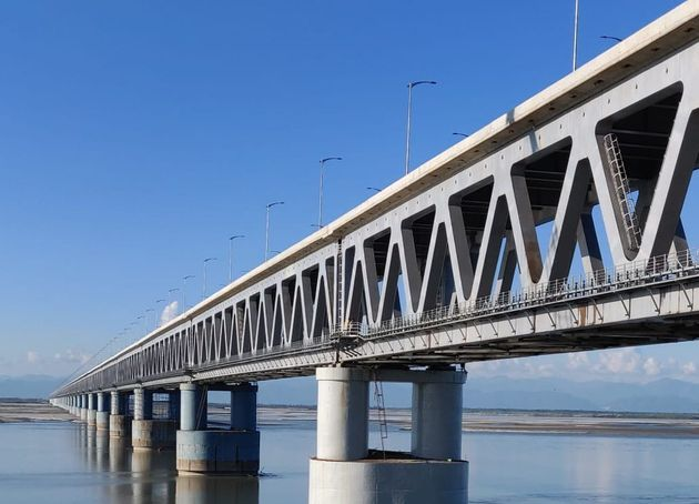 Modi To Inaugurate India's Longest Rail-Road Bridge