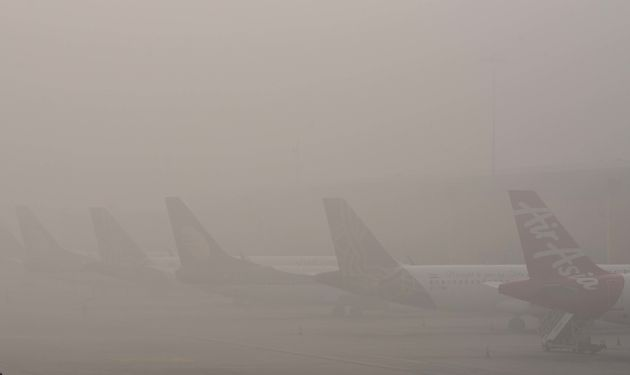 Departures On Hold For 2 Hours At Delhi Airport Due To Low