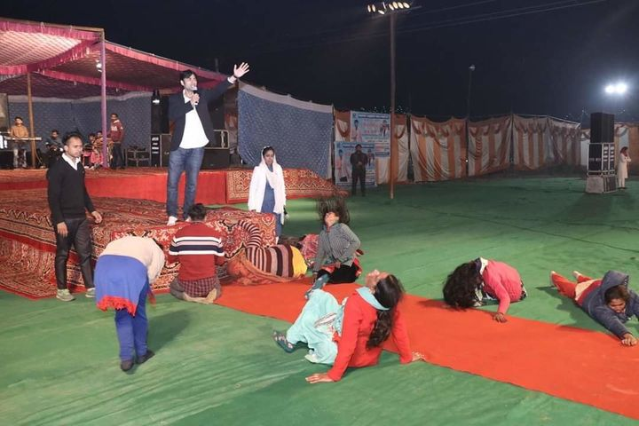 A Jalandhar based Pastor removing 'evil spirits' from his women followers at his private church at Jalandhar.