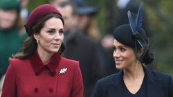What Rift? Kate And Meghan Put On A United Front At