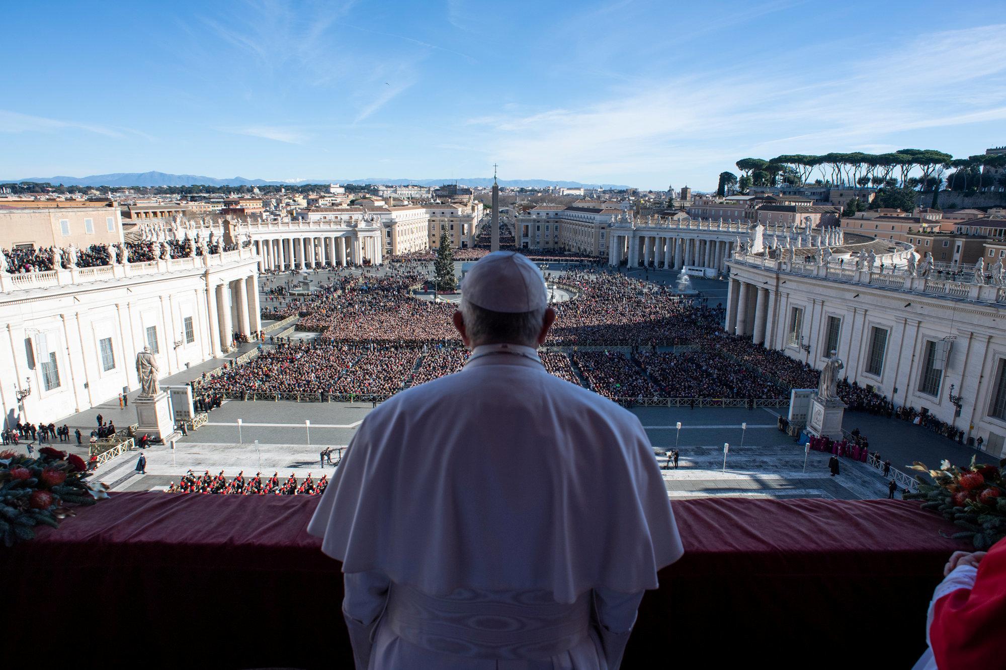 Το χριστουγεννιάτικο μήνυμα του πάπα