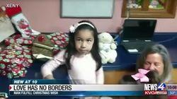 Amerikaner findet Wunschzettel einer 8-Jährigen – dann beginnt ein