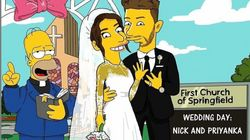 Priyanka Chopra And Nick Jonas Get 'The Simpsons'