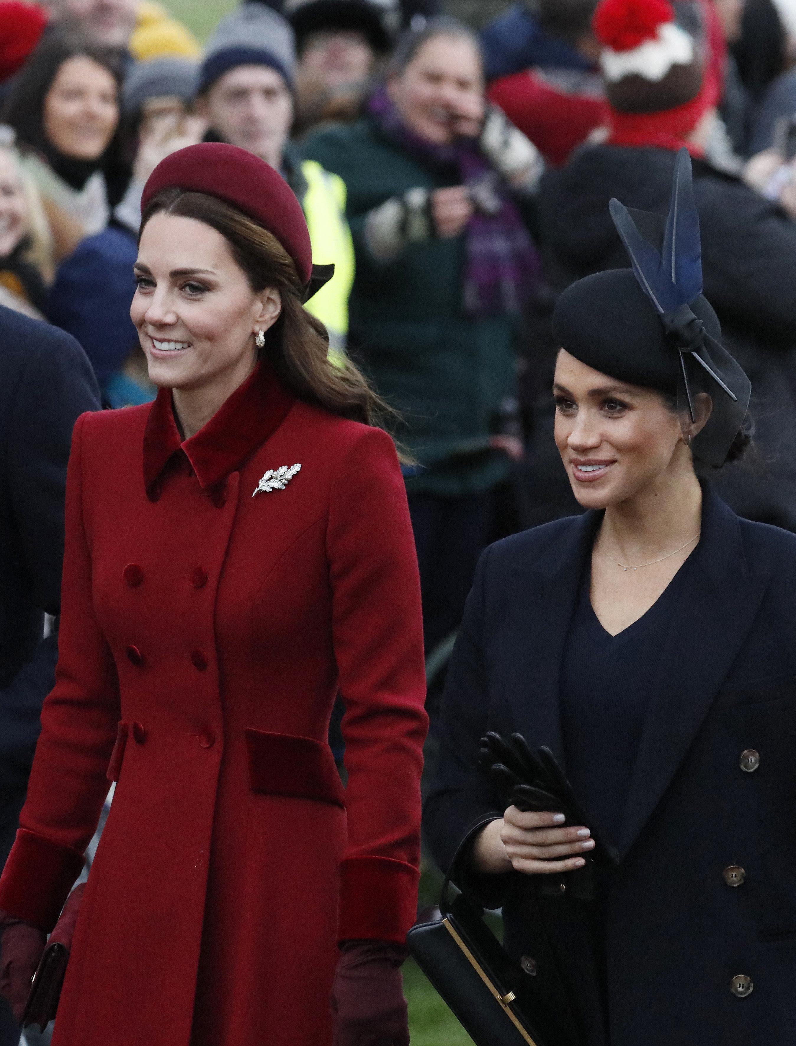 Royal-Insider: So will Meghan ihre Schwägerin Kate an Weihnachten