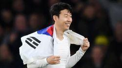 손흥민이 '2018 최고의 남자 축구선수 100인'에