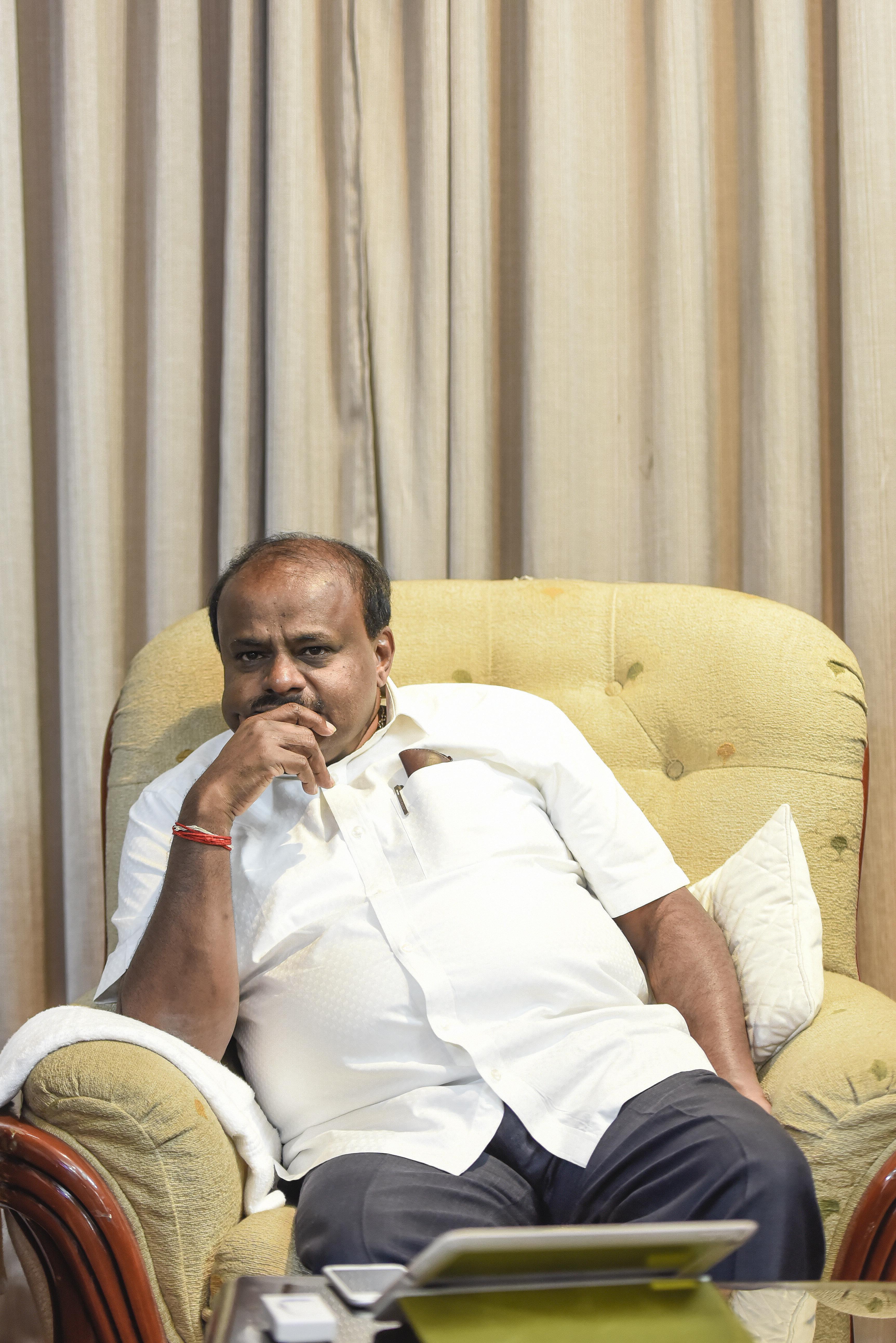 Trouble Mounts For Karnataka CM Kumaraswamy After His 'Shoot Mercilessly'