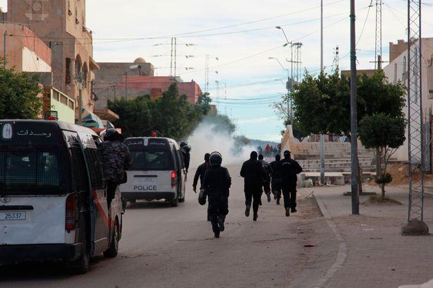 Nuit de tensions à Kasserine et
