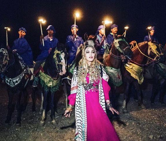 Pour Noël, Madonna partage un discours féministe tourné pendant son anniversaire au