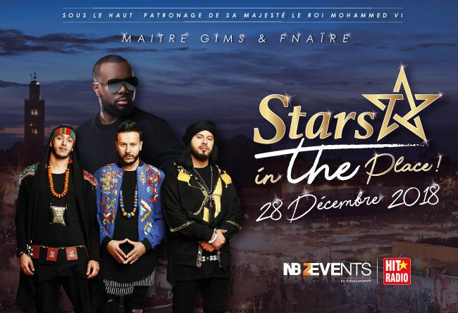 Maître Gims, Fnaïre, Manal et de nombreux autres artistes s'invitent à Marrakech pour un concert