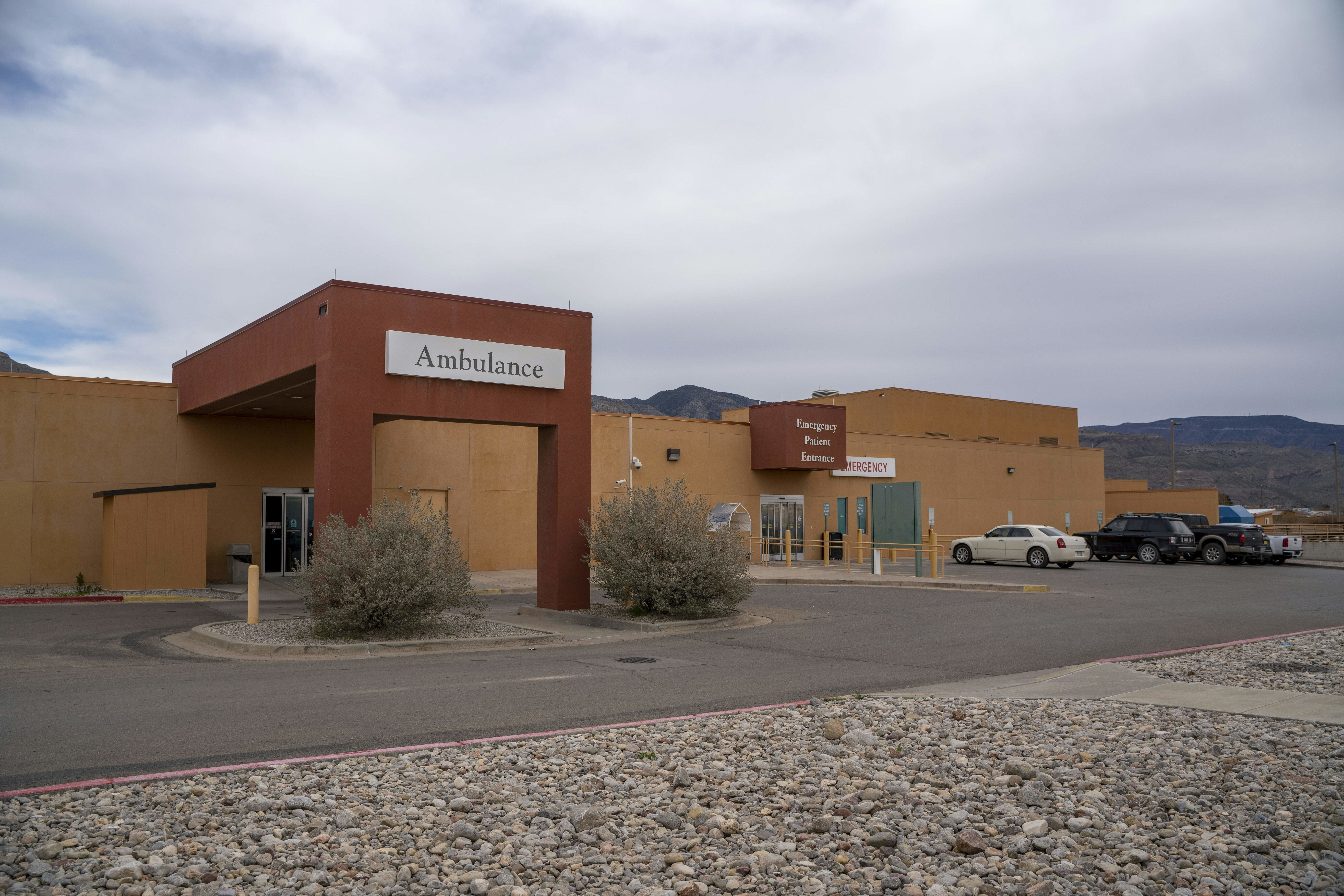 Gerald Champion Regional Medical Center in Alamogordo, New Mexico, on December 25, 2018, where Customs and Border Protection reported the death of an eight-year-old migrant from Guatemala which occurred shortly after midnight on Christmas morning. - The boy, who was being held in CBP custody with his father, had been sick and diagnosed with a cold, but his situation deteriorated and he started vomiting. The cause of the boys death is not known, and he is the second child to die in CBP custody this month. (Photo by Paul Ratje / AFP)        (Photo credit should read PAUL RATJE/AFP/Getty Images)