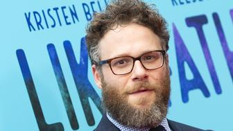 US/Canadian actor Seth Rogen attends the premiere of Netflix's 'Like Father' on July 31, 2018, in Hollywood, California. (Photo by VALERIE MACON / AFP)        (Photo credit should read VALERIE MACON/AFP/Getty Images)