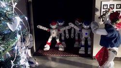 Ο Ερμής το ρομπότ επιστρέφει σπίτι του: Χριστουγεννιάτικο βίντεο του Πολυτεχνείου
