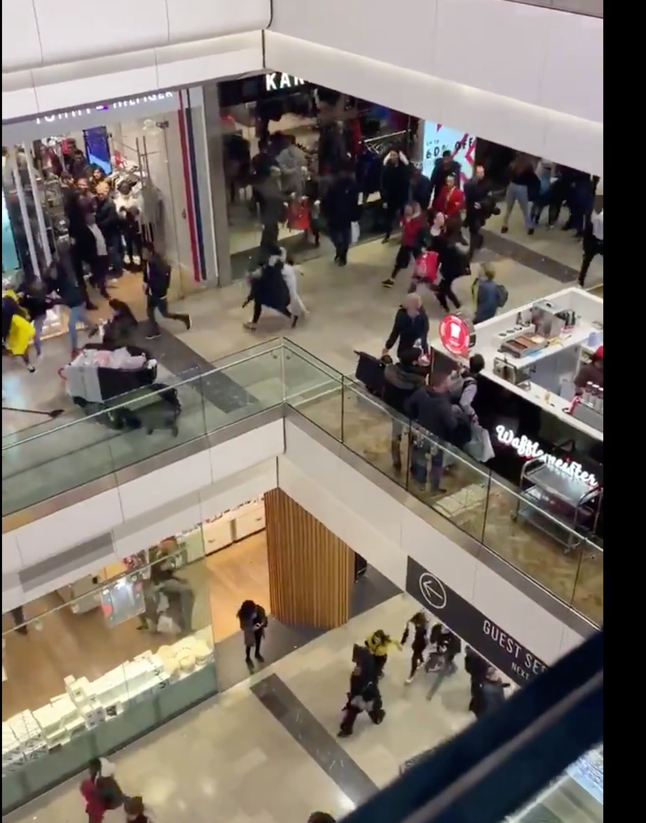 Mass Panic At Westfield Shopping Centre As Police Operation Sparks