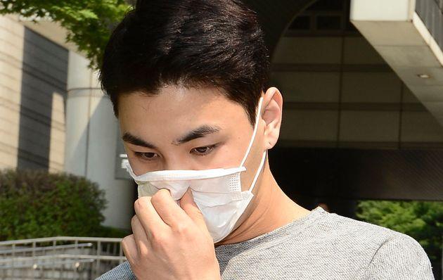 그룹 '남녀공학'에서 '열혈강호'로 활동했던 배우 차주혁이 출소 11일 만에 또