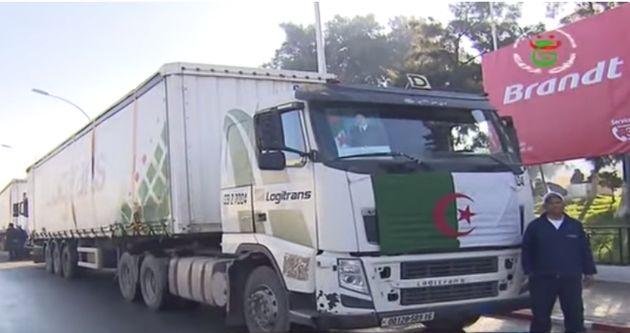 Première exportation de produits algériens vers la Mauritanie par voie