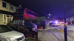 London Double-Decker Crashes Into Front