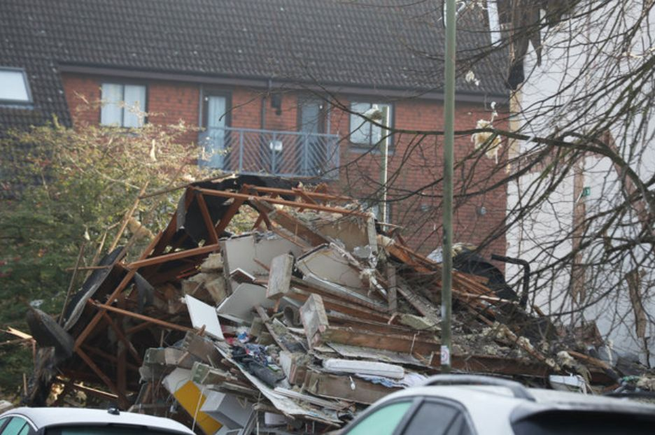 Man's Body Found After Explosion Destroys Building In