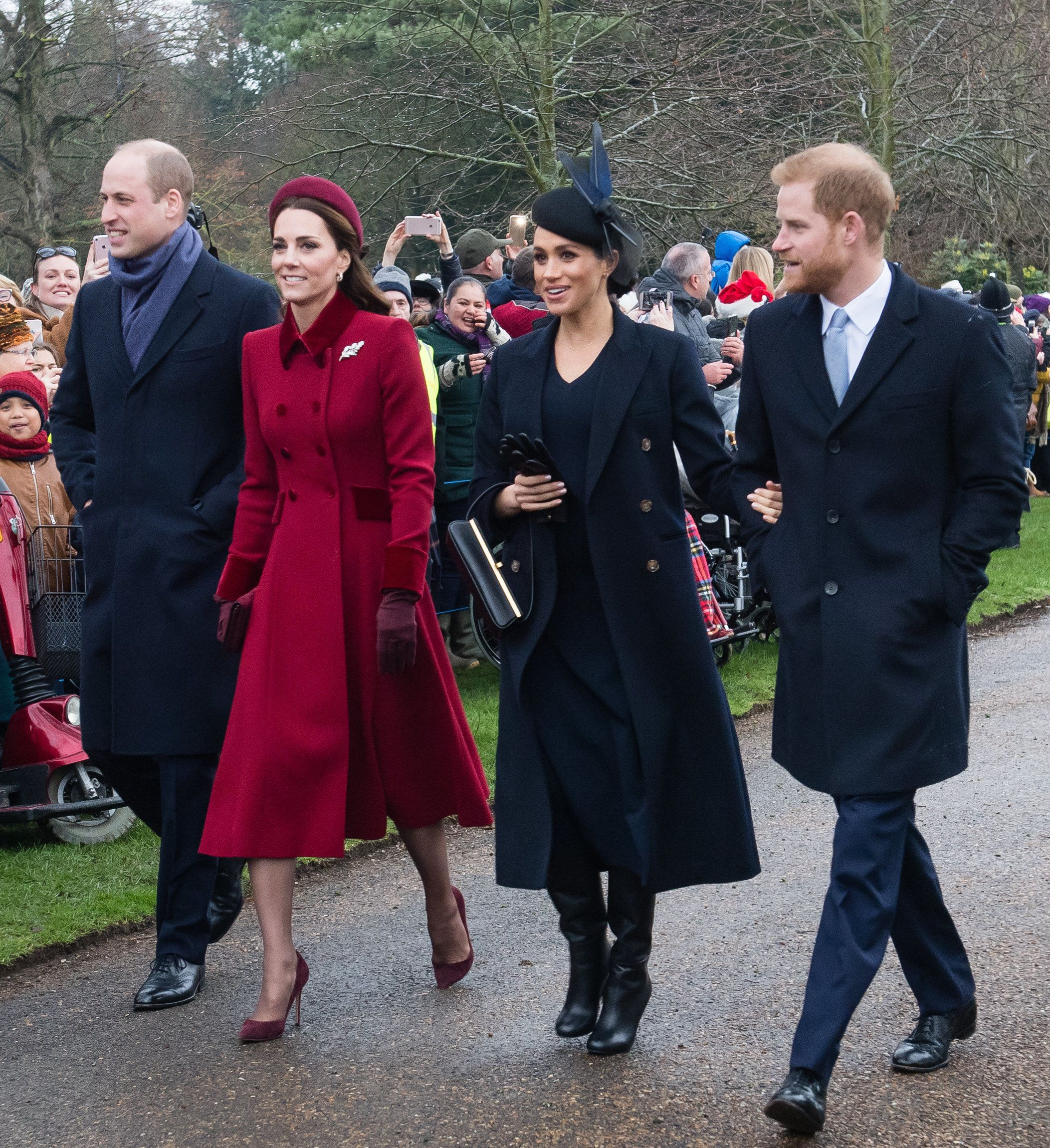 Meghan Markle's Christmas Day look was all from Victoria Beckham's line