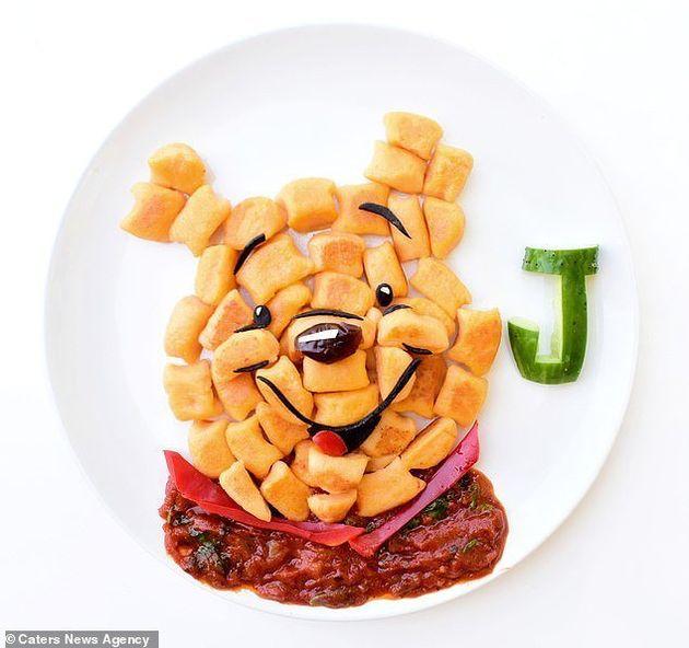 야채 안 먹는 아이들을 위해 어느 엄마가 기발한 아이디어를