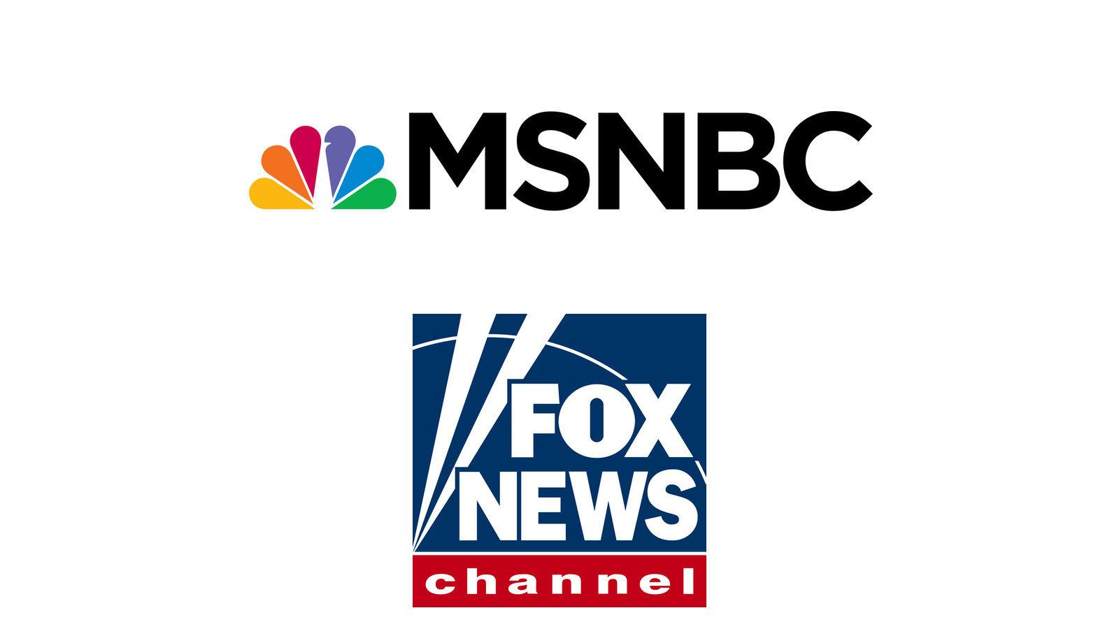 MSNBC Fox News