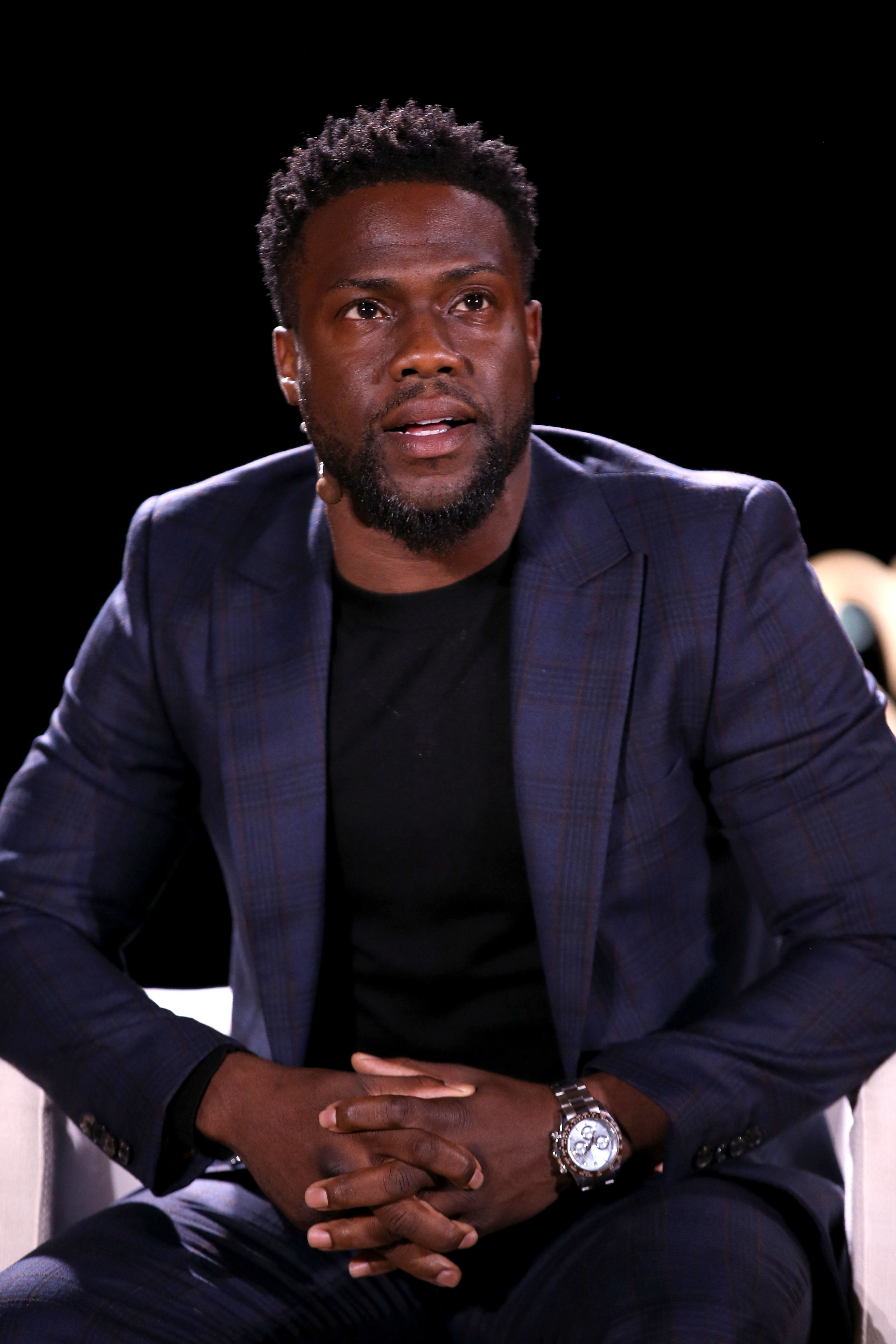 LAGUNA BEACH, CALIFORNIA - NOVEMBER 13: Kevin Hart attends the WSJ Tech D.Live at Montage Laguna Beach on November 13, 2018 in Laguna Beach, California. (Photo by Phillip Faraone/Getty Images for The Wall Street Journal and WSJ. Magazine)