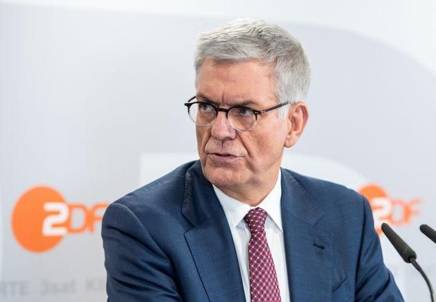 ZDF-Intendant Thomas Bellutfordert höhere Rundfunkbeiträge.