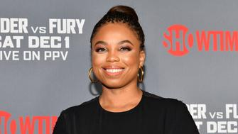 LOS ANGELES, CALIFORNIA - DECEMBER 01: Journalist Jemele Hill attends the Heavyweight Championship of The World 'Wilder vs. Fury' Premiere at Staples Center on December 01, 2018 in Los Angeles, California. (Photo by Rodin Eckenroth/Getty Images)