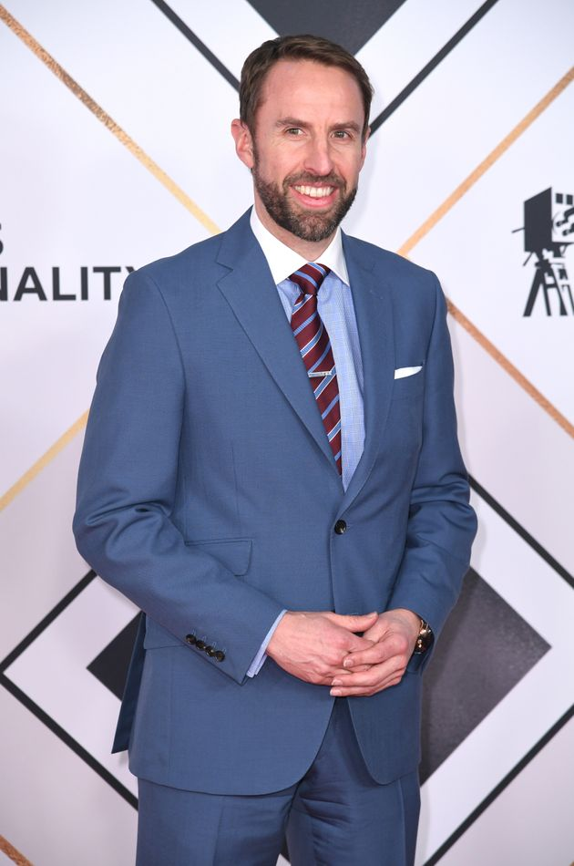 England football manager Gareth Southgate is honoured with an