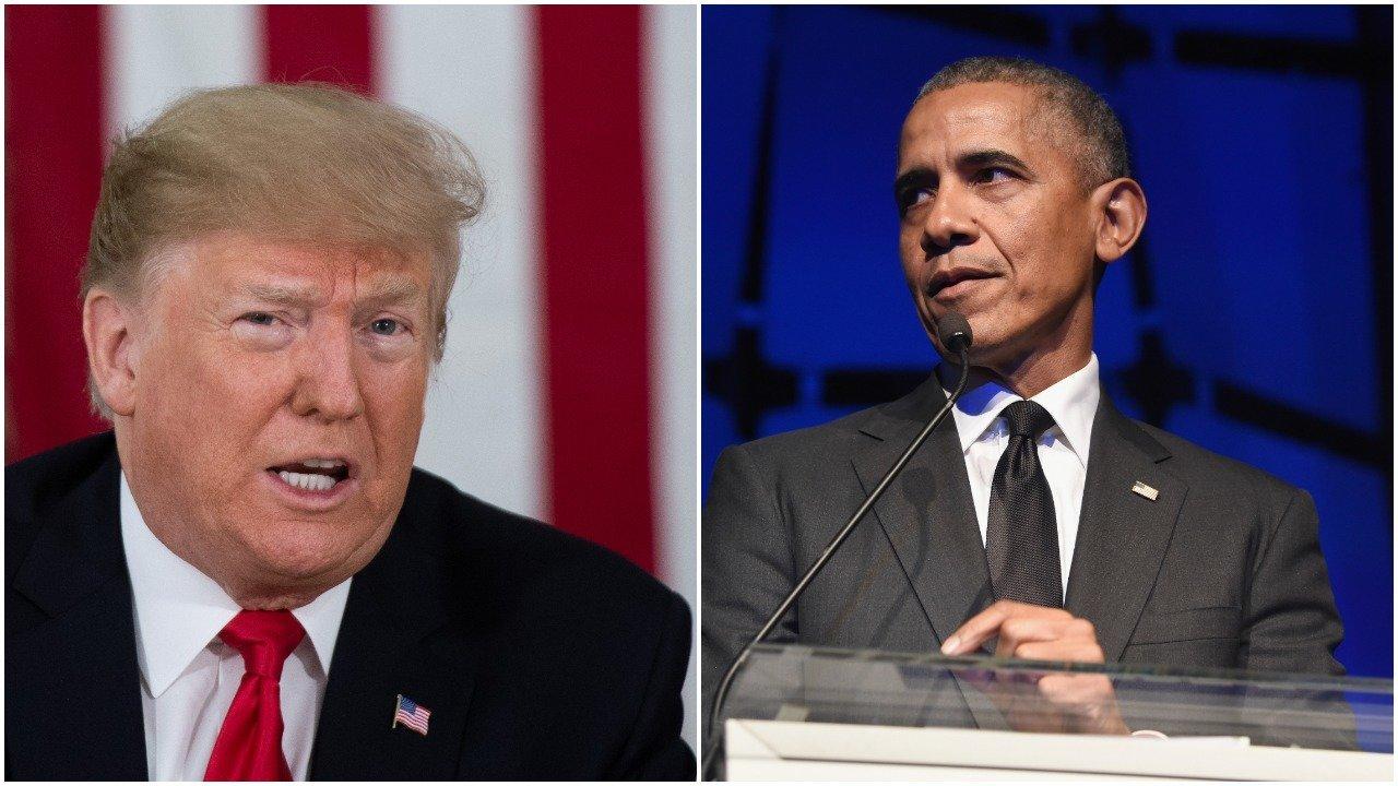 Donald Trump/Barack Obama