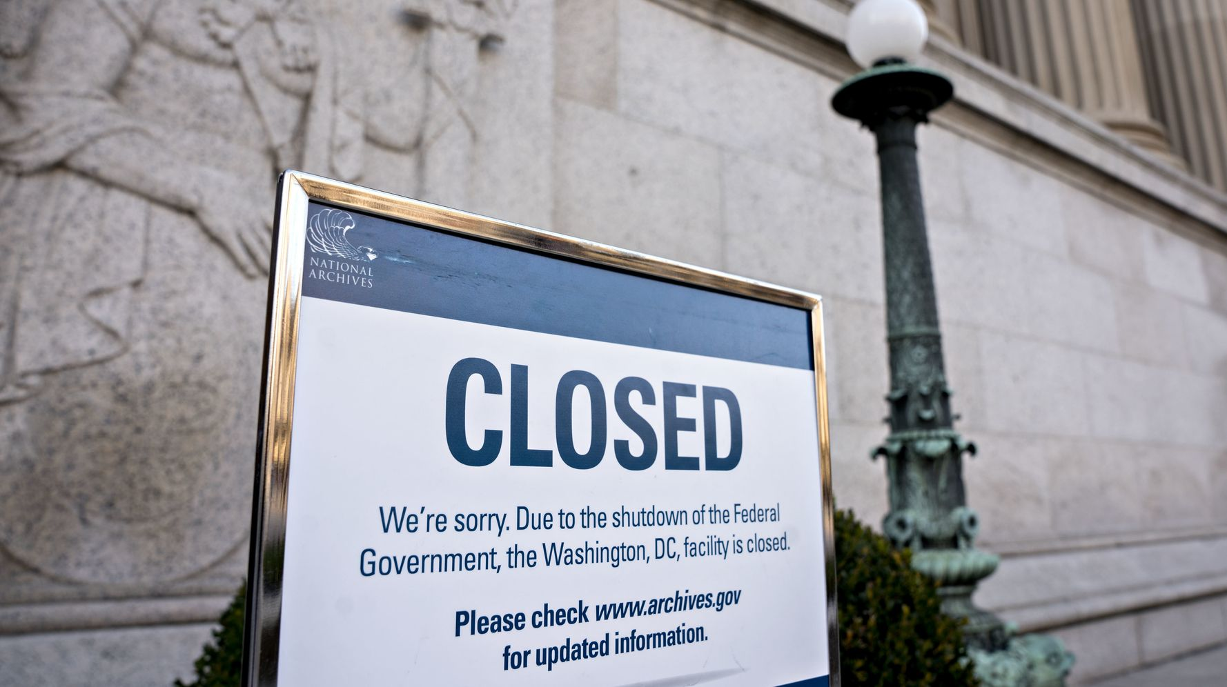 Shutdown Leaves Government Contractors Without Work And Likely No Back Pay
