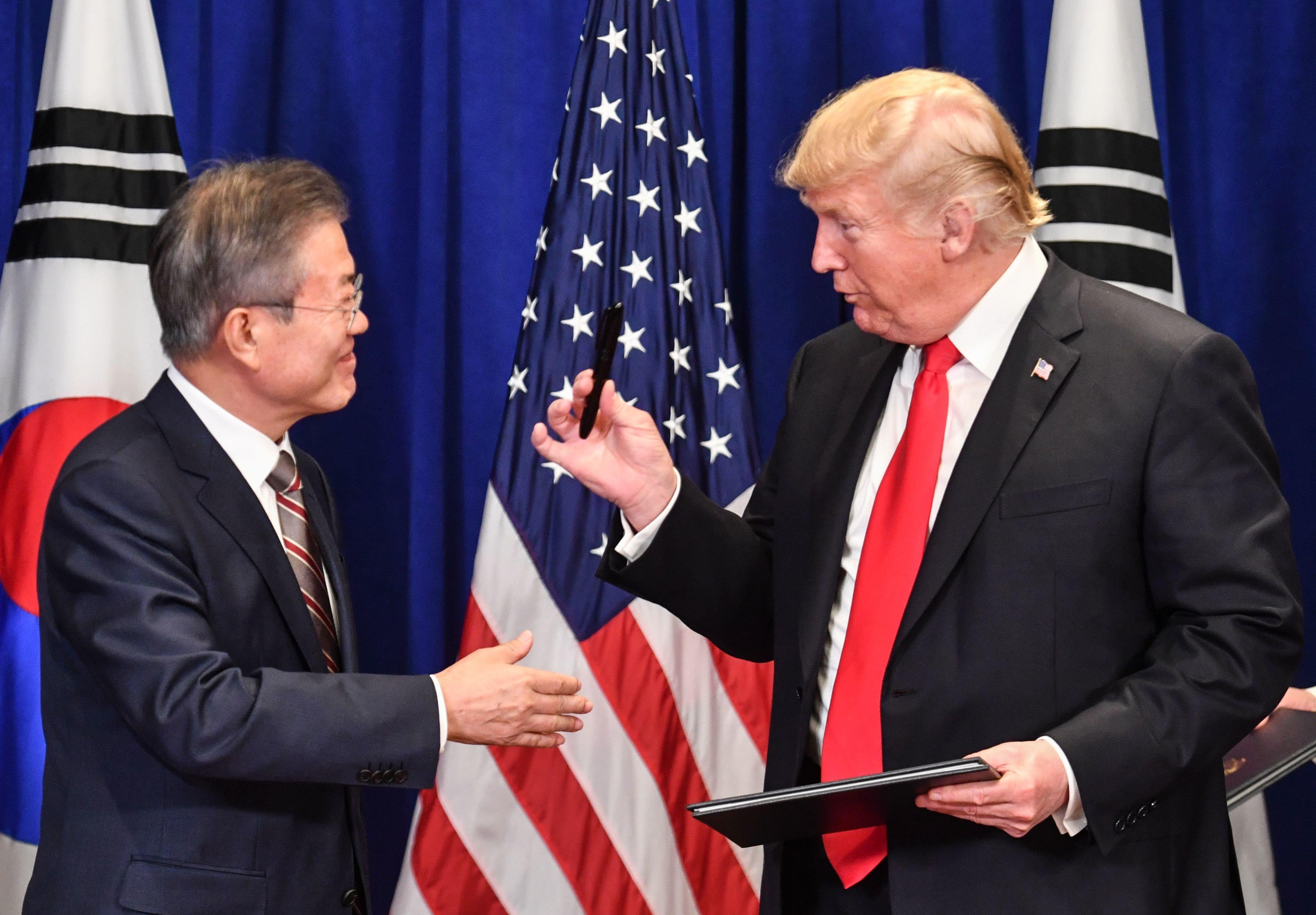 미국이 방위비 분담금 협정 협상에서 한국을 거세게 압박하고
