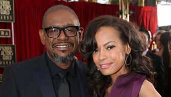 """FILE - In this Saturday, Jan. 18, 2014, file photo, Forest Whitaker, left, and Keisha Nash-Whitaker arrive at the 20th annual Screen Actors Guild Awards at the Shrine Auditorium in Los Angeles. Forest Whitaker has filed for divorce from his wife of 22 years, Keisha Nash-Whitaker. The 57-year-old """"Black Panther"""" actor cites irreconcilable differences in the divorce filing Thursday, Dec. 27, 2018, in Los Angeles County Superior Court. (Photo by Matt Sayles/Invision/AP, File)"""