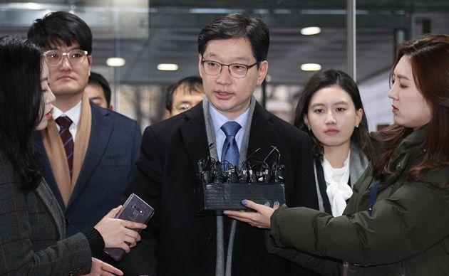 '드루킹 사건' 허익범 특검이 김경수 경남도지사에 징역 5년을
