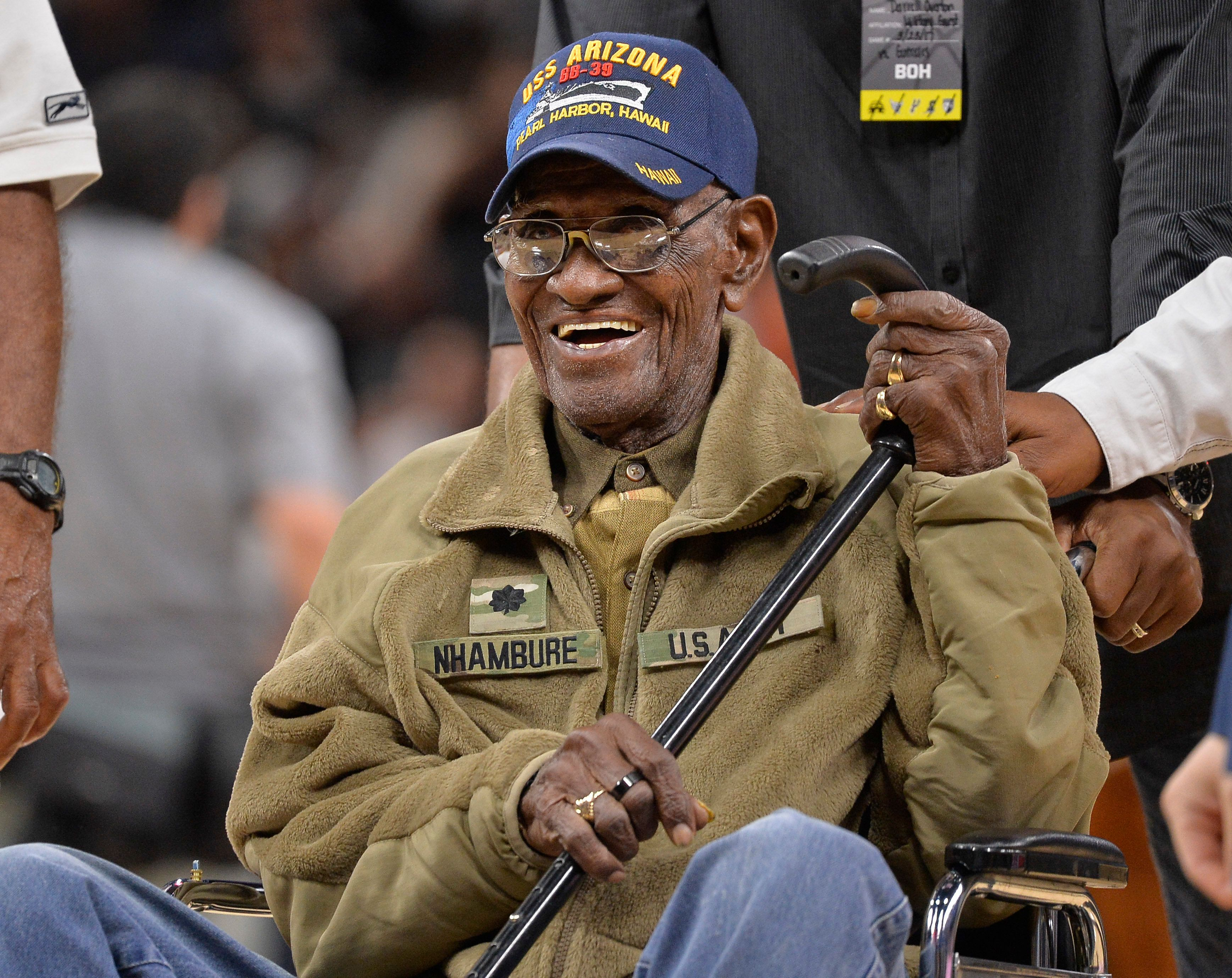 """""""Richard Overton made us proud to be Texans and proud to be Americans,"""" Texas Gov. Greg Abbott said."""