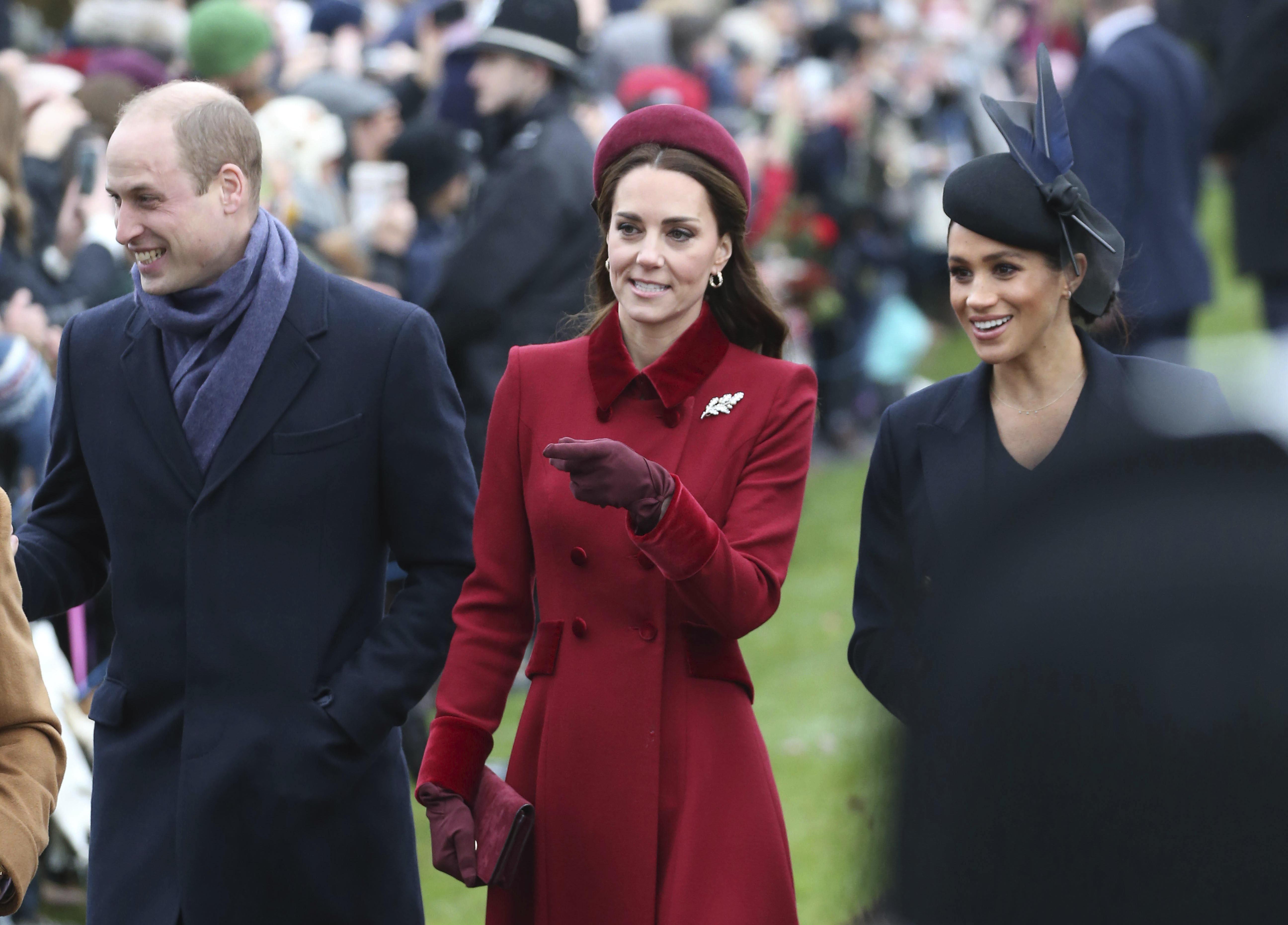 Royals-Streit zwischen Meghan und Kate: Diese Rolle soll William dabei