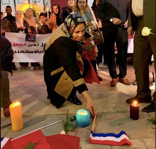 Au Maroc, Latifa Ibn Ziaten a rendu hommage aux jeunes touristes