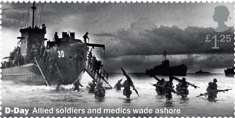Royal Mail Apologises And Withdraws Stamp Design After D-Day Photograph