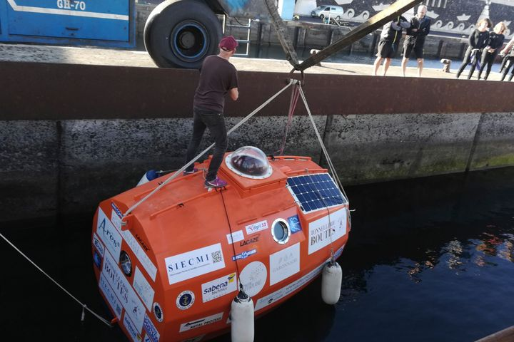 71-Year-Old Man Attempts To Cross Atlantic Ocean In Large Barrel