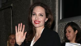 LONDON, ENGLAND - NOVEMBER 23:  Angelina Jolie arrives at the BFI for the 'Preventing Sexual Violence in Conflict Film Festival' on November 23, 2018 in London, England. (Photo by Neil Mockford/GC Images)