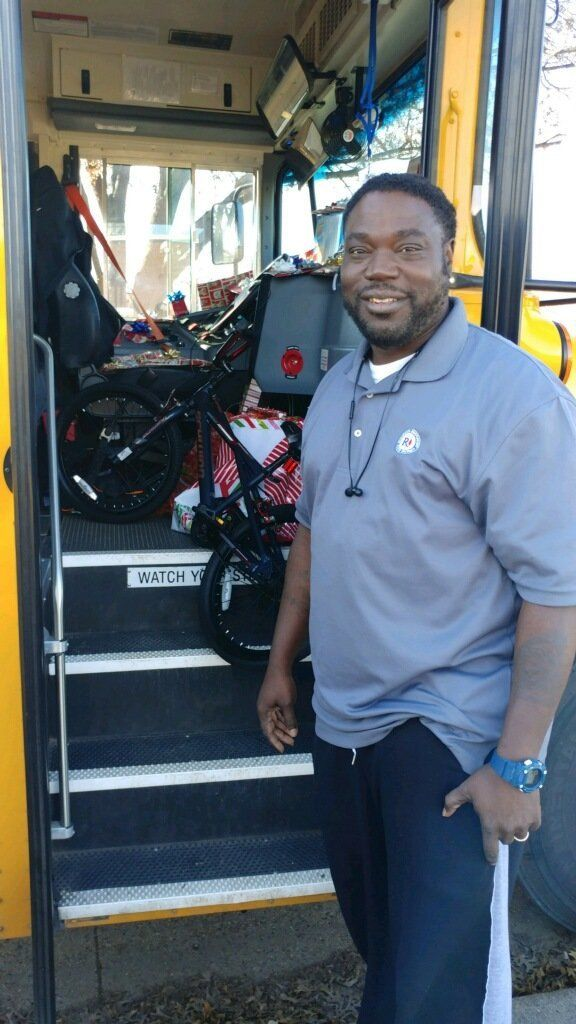 Curtis Jenkins has been a bus driver forRichardson Schools for seven