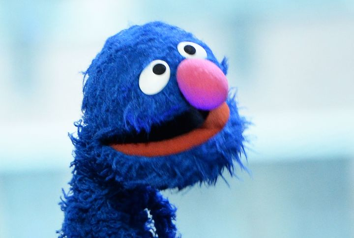Grover: the potentially potty-mouthed puppet in question.