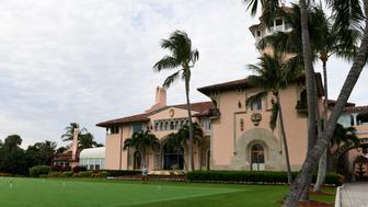 A view of President Donald Trump's Mar-a-Lago estate in Palm Beach, Fla., Thursday, Nov. 22, 2018. (AP Photo/Susan Walsh)