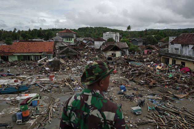 Bilder der Verwüstung kamen zuletzt aus Indonesien.