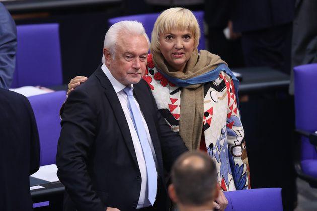Die Bundestagsvizepräsidenten Wolfgang Kubicki und Claudia
