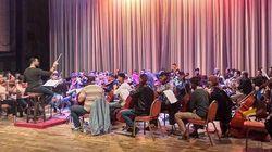 """Salim Dada dirige le premier concert de l'orchestre """"jeunes"""