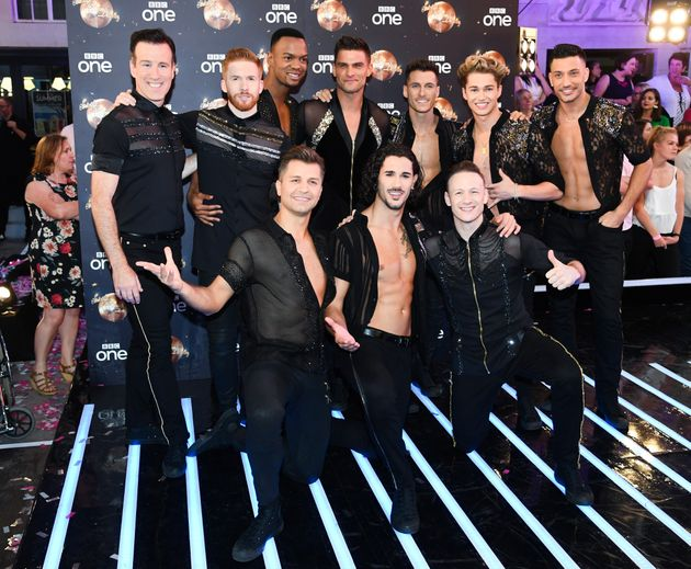 AJ and Curtis have been supported by AJ's 'Strictly'